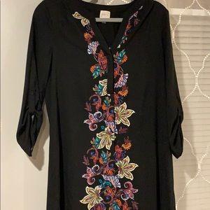 Cupio dress with beautiful flowers